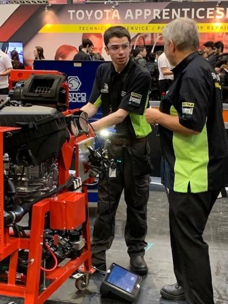 Picture courtesy of the IMI -   2018 National Skills Competition