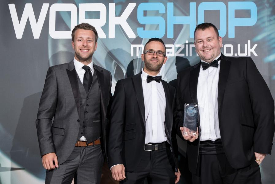 Pictured above: Jack Evans (Award Presenter) with Chris Routledge and Steven White