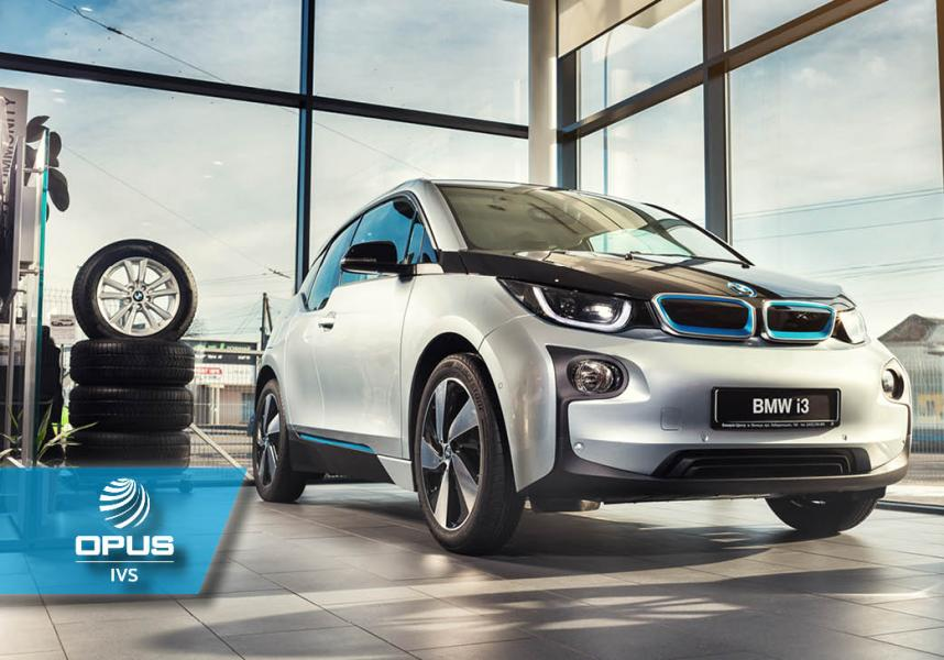 IVS 360 BMW team supports a customer servicing a BMW i3 fitted with a range extender requiring an oil service