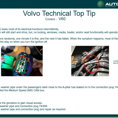 VOLVO - Technical Top Tip