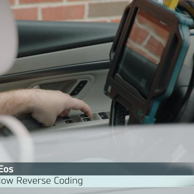 VW Eos Power Window Reverse Operation Diagnosis