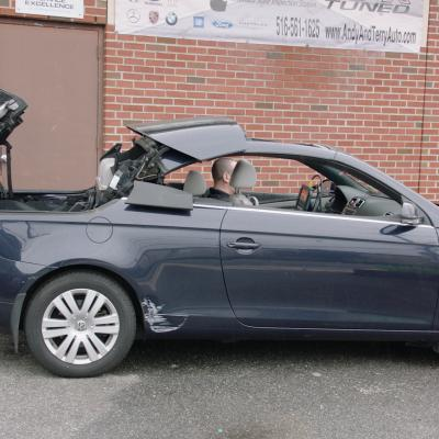 VW Eos Convertible Hardtop Emergency Opening and Closing