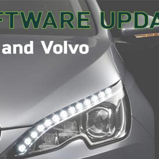 Software Updates: Volvo & PSA Updates