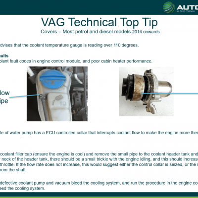 Top Tip - VAG