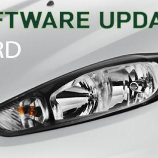 Software updates for Ford