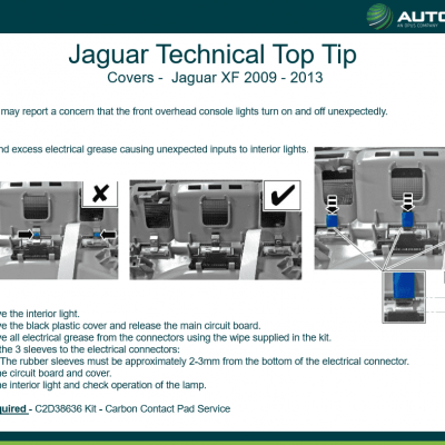 Top Tip - Jaguar
