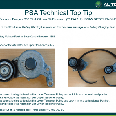 PSA - Technical Top Tip