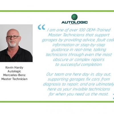 Autologic supports a technician with electrical fault malfunction on Mercedes-Benz W205 chassis